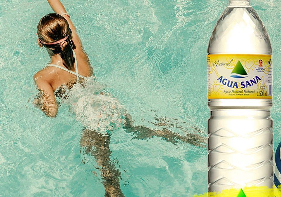 Este verano cuida tu salud con Agua Sana