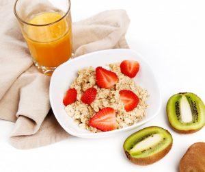 la fruta es un buen desayuno