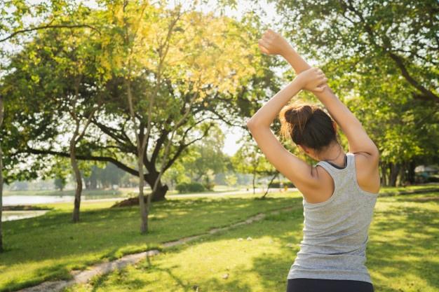 rutina fitness: estiramientos