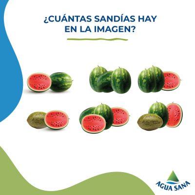 Juega con Agua Sana: gazpacho de sandía