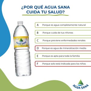 Verdadero o Falso | Solución Juego Agua Sana