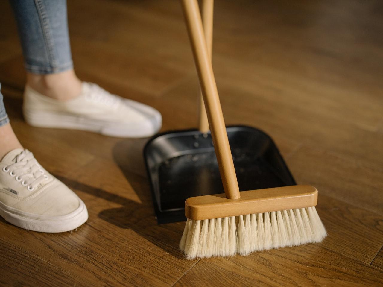 La limpieza ayuda a sentirse mejor y a estar más relajado en casa