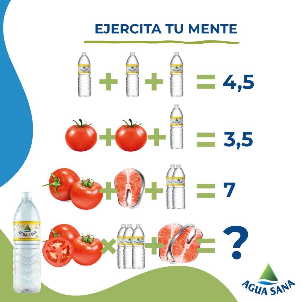 Ecuación Agua Sana: recetas sanas y ricas