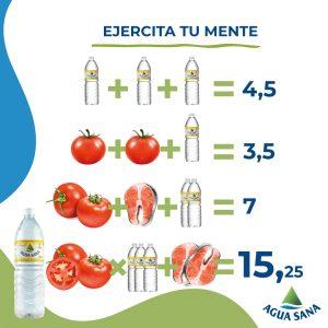 Juega con Agua Sana | Solución recetas sanas