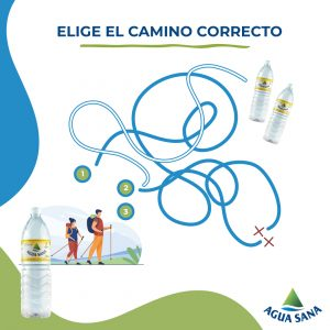 Solución al juego de Agua Sana: encuentra el camino hacia el agua