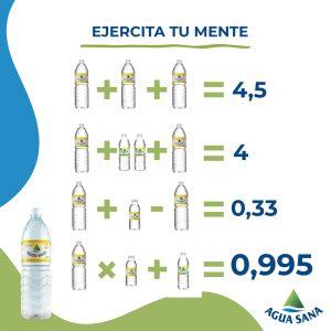 Juega con Agua Sana   Solución de la ecuación