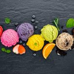 Los helados caseros con frutas son deliciosos