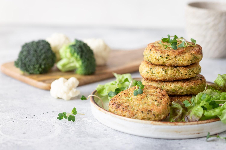 Las hamburguesas de brócoli son una receta sana y nutritiva para los niños