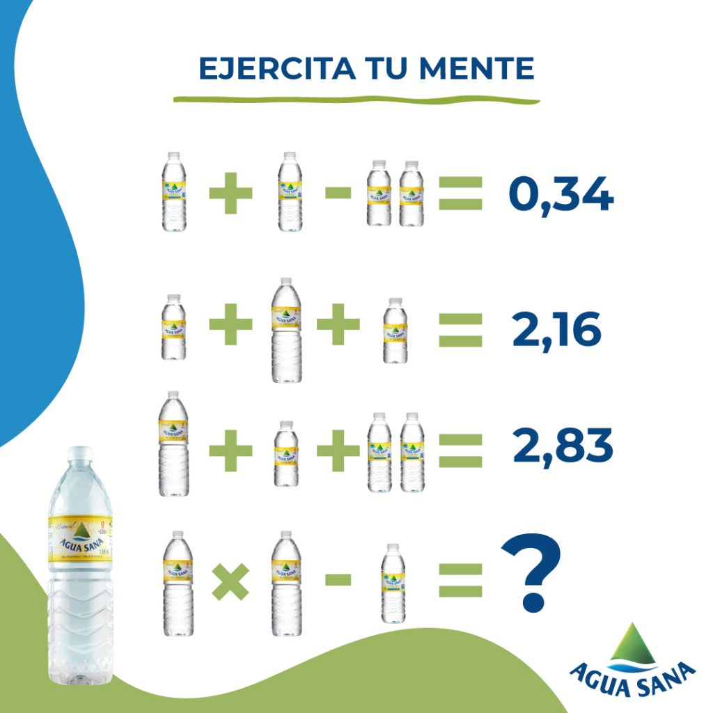 Nuevo juego de agua mineral natural en Agua Sana