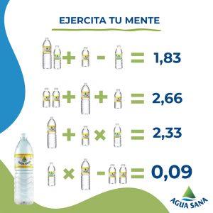Esta es la solucióna la ecuación de Agua Sana